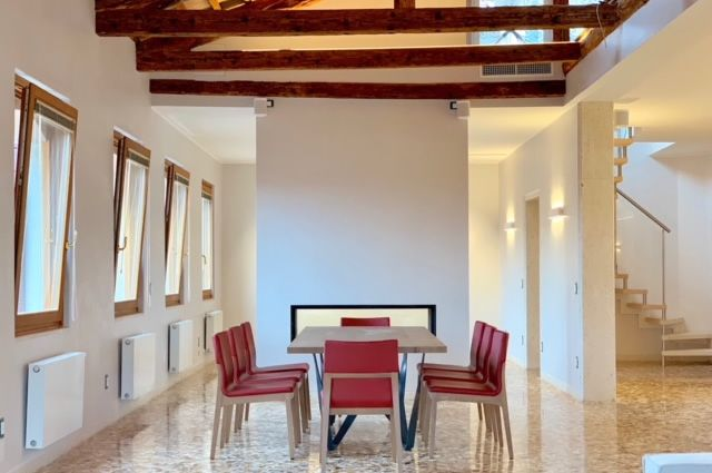 Castello Penthouse in Venice after restoration